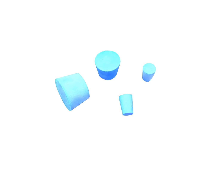 Ajax Scientific Solid Rubber Stopper, #2 Size