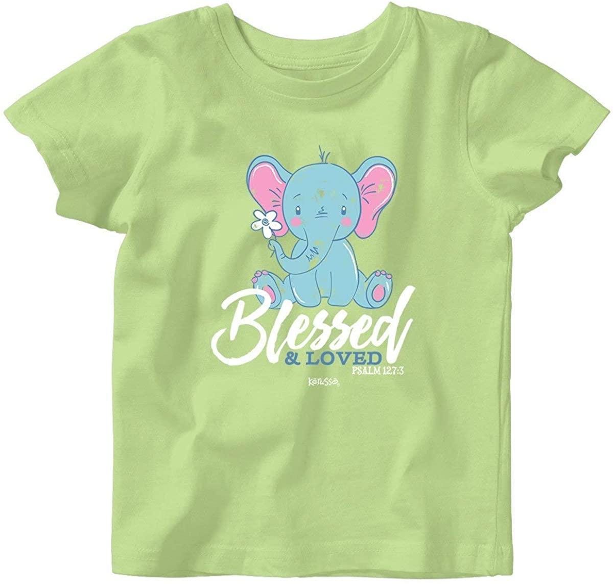 Kerusso Kids Jesus Loves Me Beary Much T-Shirt - Navy -