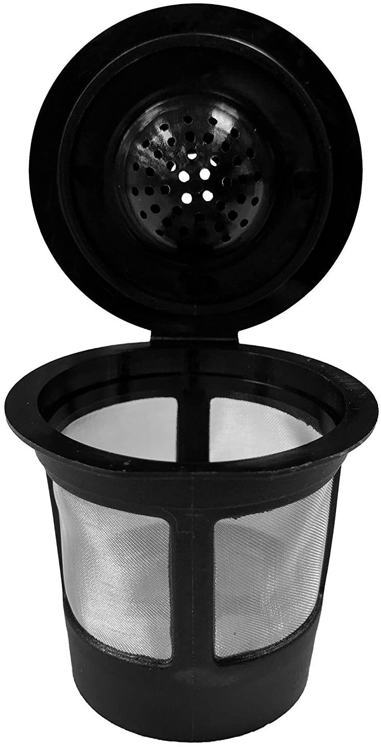 Reusable Coffee Filter Mesh Sealable Basket For Single Serve Pod Brewers, Pack of 1