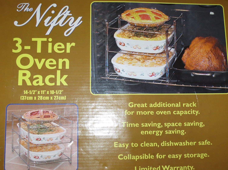 3-Tier Oven Rack -- 14.5