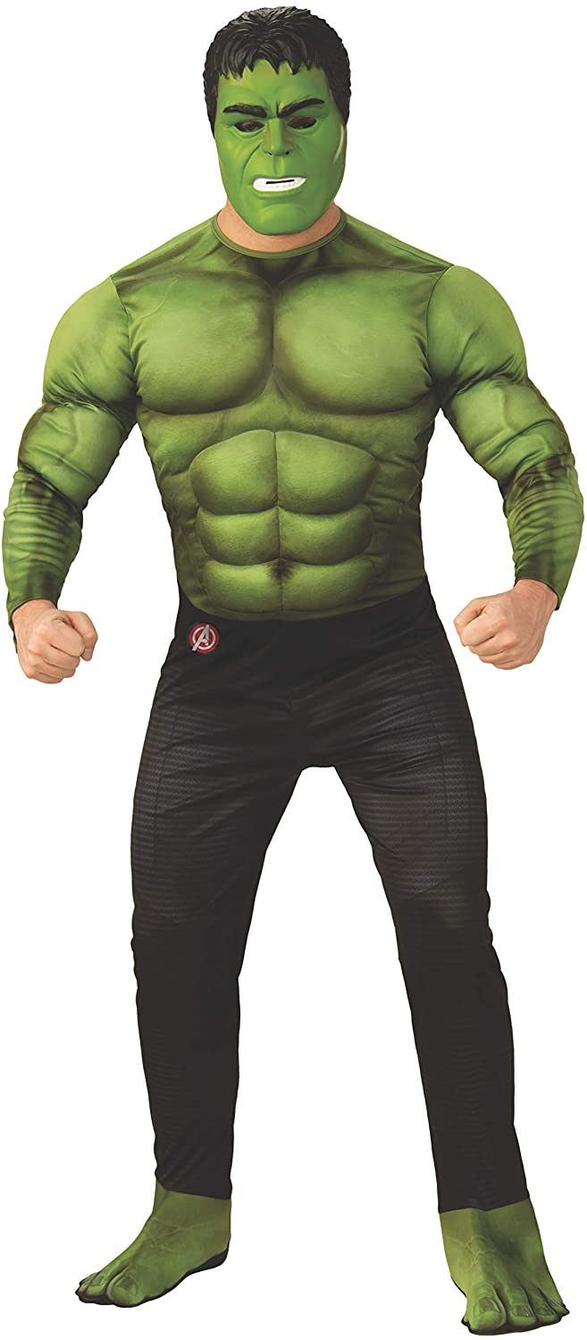 Rubies Marvel Avengers: Endgame Deluxe Hulk Adult Costume and Mask