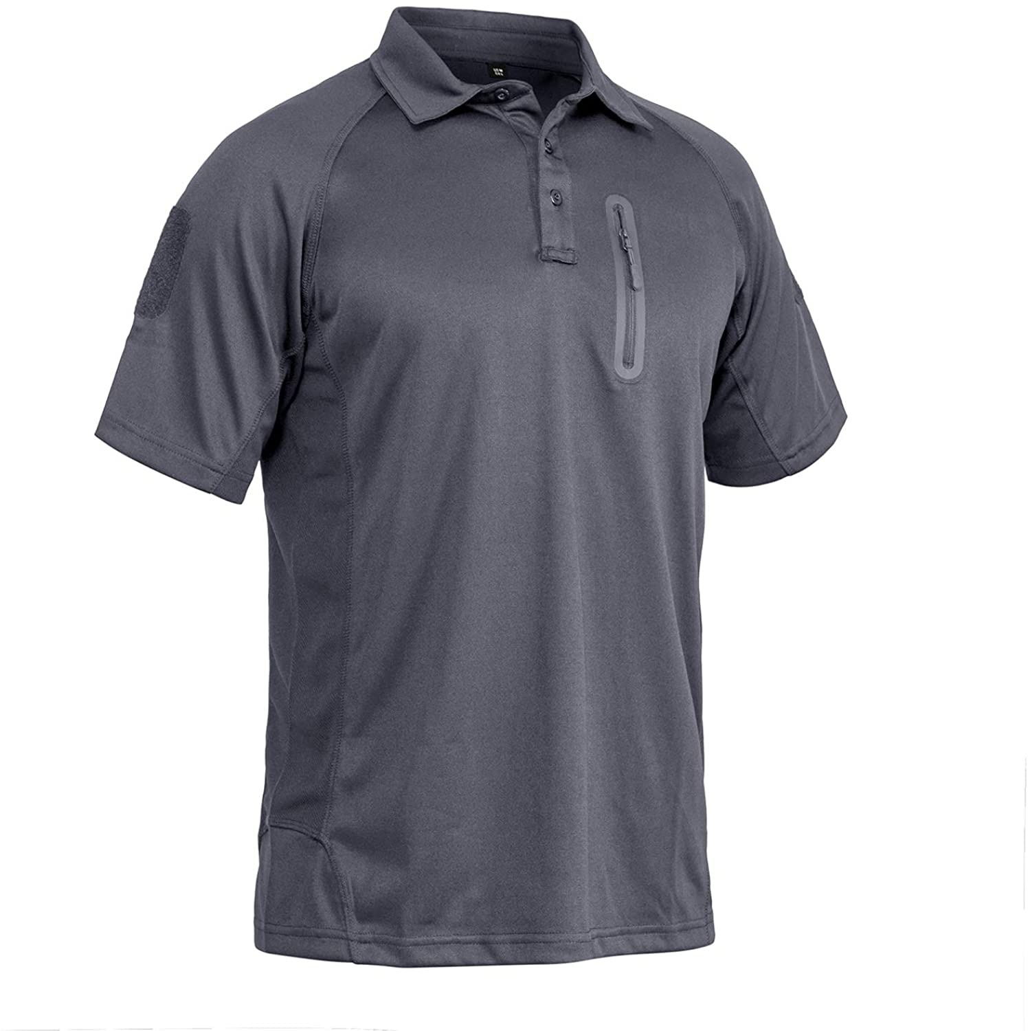 MAGNIVIT Men's Tactical Short and Long Sleeve Polo Shirts Outdoor Performance Military Cargo T-Shirts