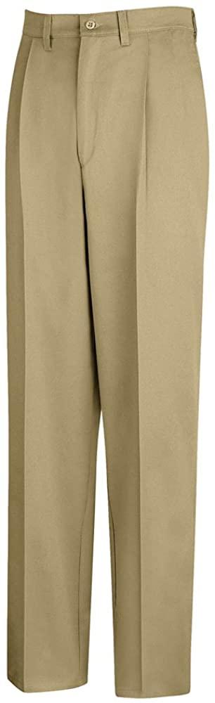 Red Kap Pleated Front Cotton Pant, Men, PC46KH, 5036U PC46KH-50-36U