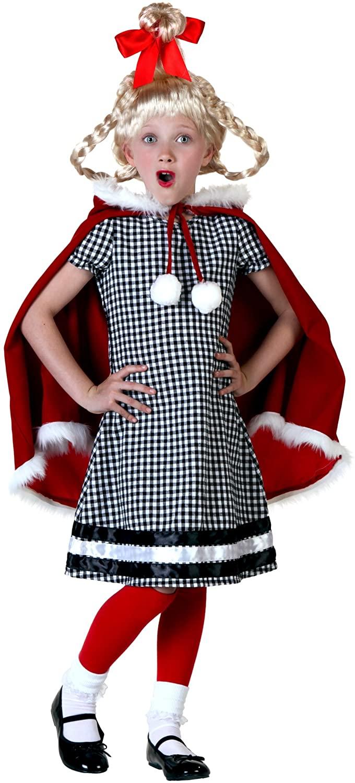 Kid's Christmas Girl Costume
