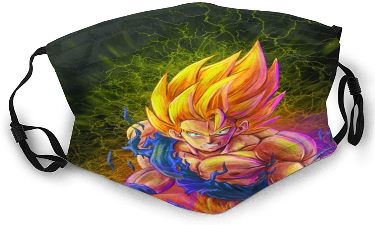 Dragon Ball Adult Outdoor Sports Windproof Dustproof Face Towel Headscarf Scarf Sunscreen