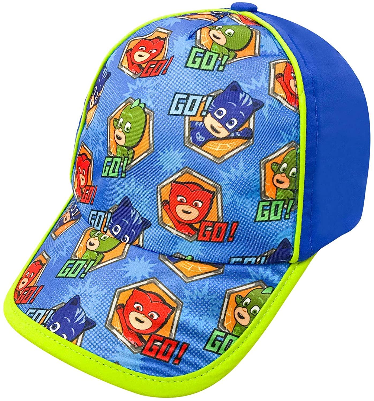 PJ Masks Boys Cotton Baseball Cap Gekko, Catboy and Owlette Character Age 4-7
