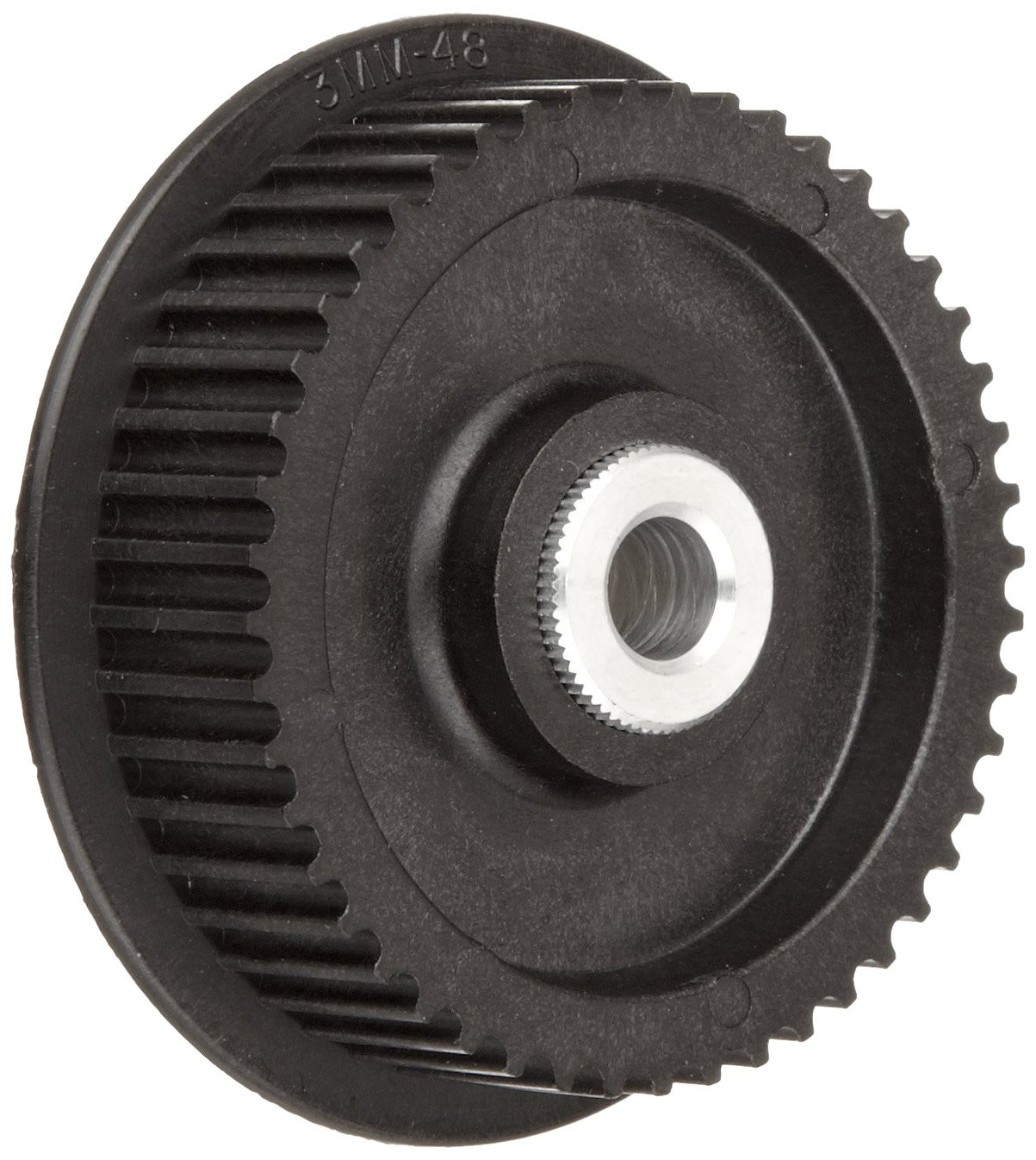 Boston Gear PLB5016DF09-1/4 Timing Pulley, 5 mm Pitch, 16 Grooves, 9mm Wide Belts, 0.250