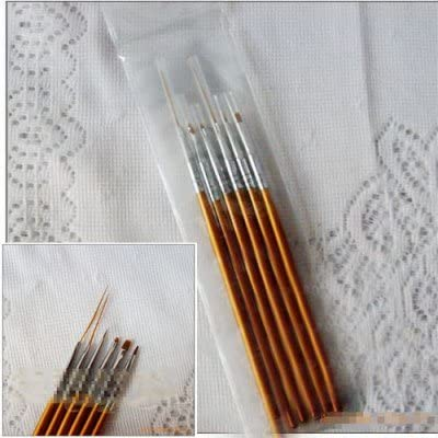 6PCS Nail Art Brush Pen for Manicure By Aricheststore