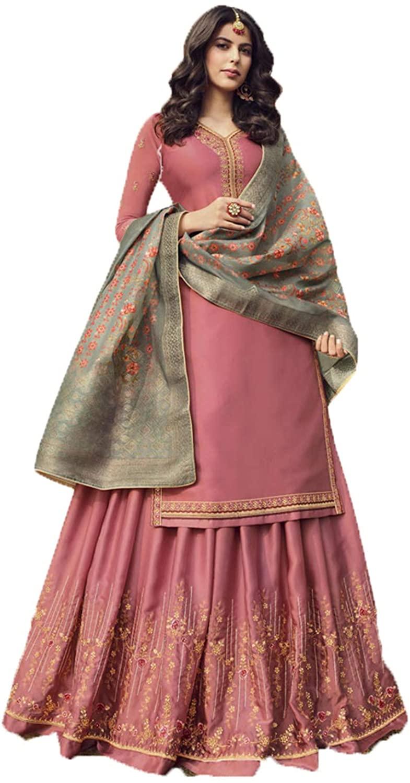Da Facioun Indian Women Designer Partywear Ethnic Traditonal Salwar Kameez. ICW2830-2