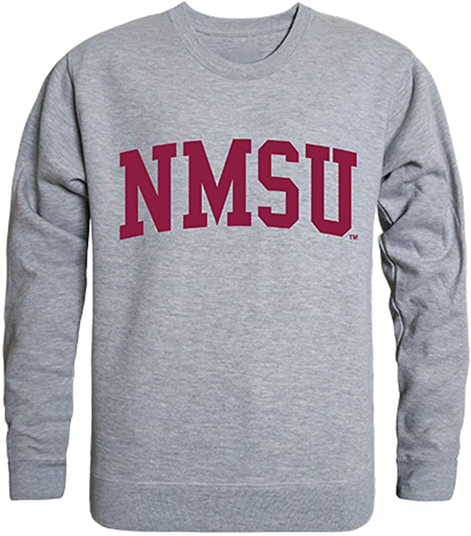 W Republic NMSU New Mexico State Aggies NCAA Men's Game Day Crewneck Fleece Sweatshirt