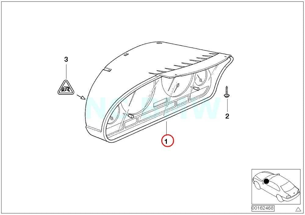 BMW Genuine Instruments Combination Uncoded