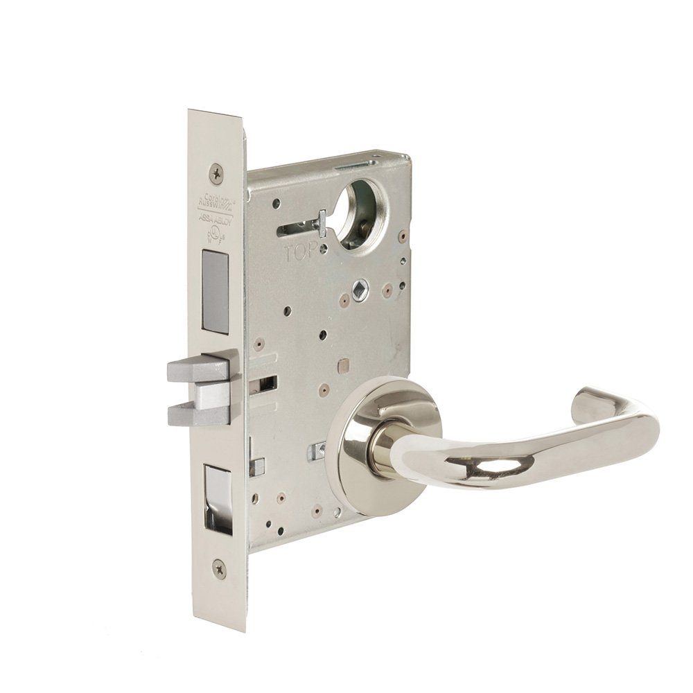 CORBINRUSSWIN ML2048-LWA-625-LC 625 Bright Polished Chrome, Lever LWA Lustra, Entrance/Entry/Office, Steel; Stainless Steel; Brass