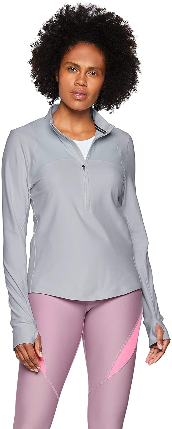 Under Armour Womens Qualifier Hybrid 1/2 Zip Warm-up Top