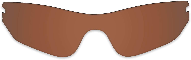 Replacement Lenses for Oakley Radar Edge Sunglass - Polarized Brown