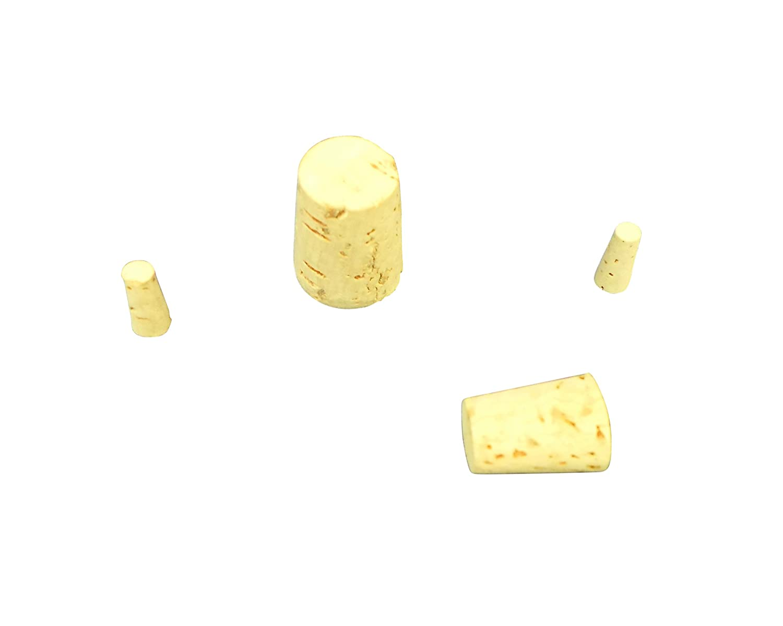 Ajax Scientific Cork Stopper, # 9 Size (Pack of 10)