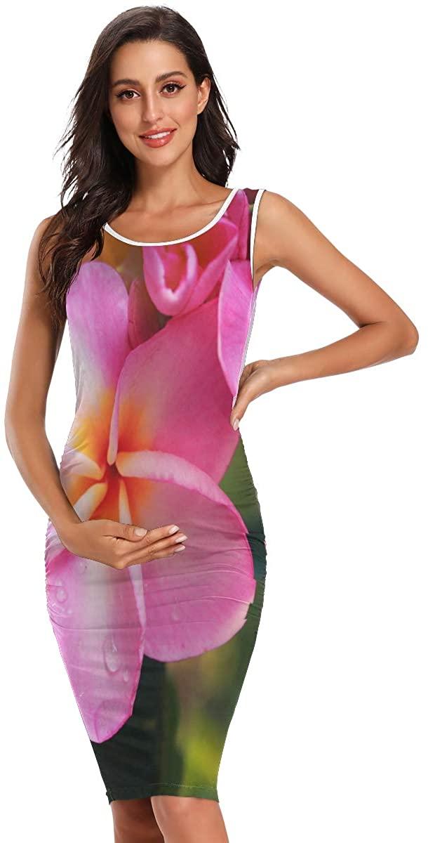 SHNUFHBD Maternity Clothes,Maternity Maxi Dress,Women Summer Sleeveless Daily Wearing
