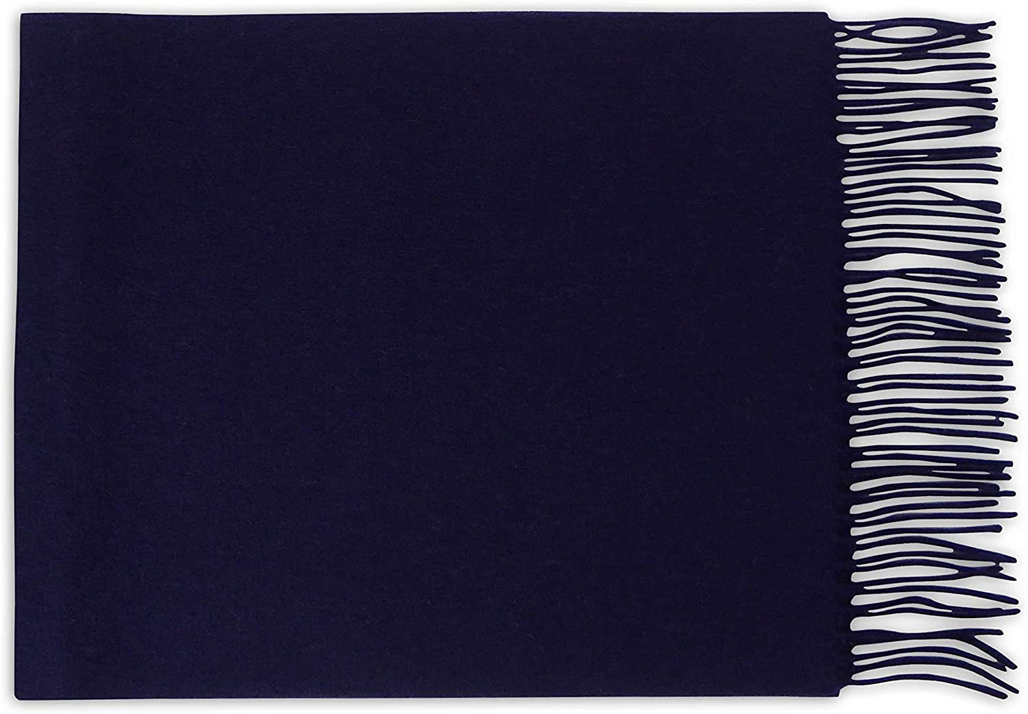 PASQUALE CUTARELLI Mens Womens Wool Plain Scarf Gift Boxed
