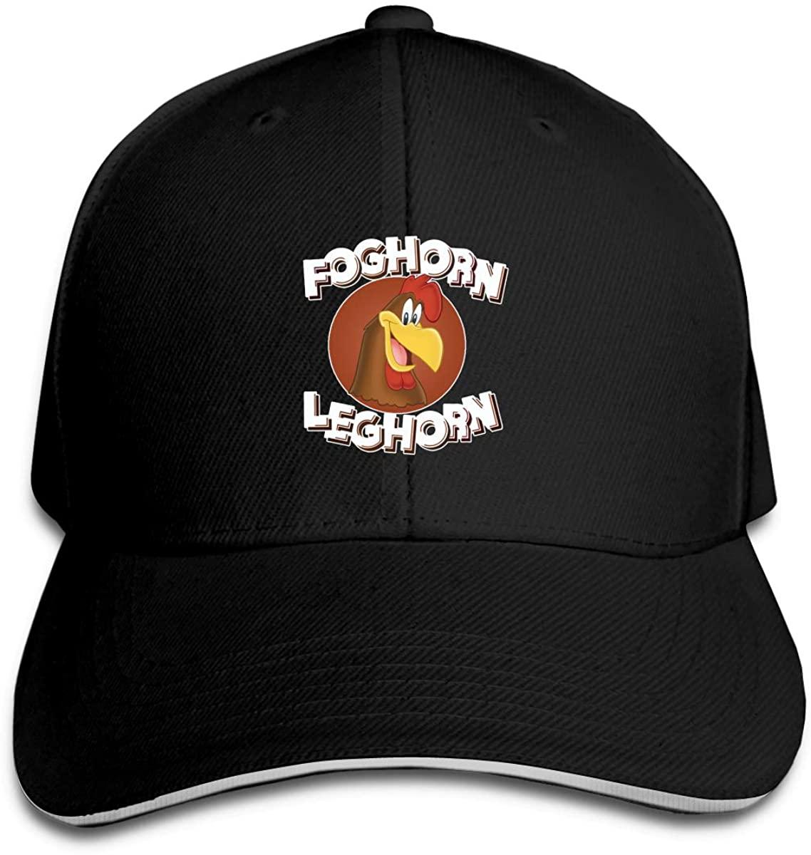 N/D Foghorn Leghorn Looney Tunes Men Womens Baseball Cap Washed Cotton Adjustable Hat