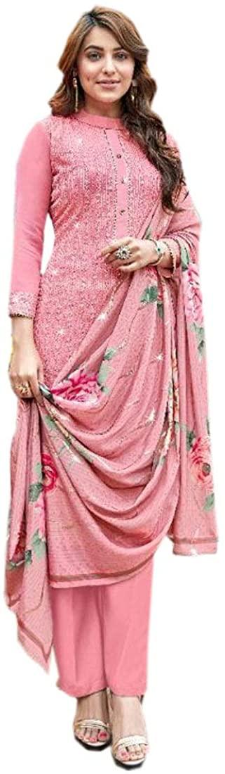 SHRI BALAJI SILK & COTTON SAREE EMPORIUM 9479 Indian Pakistani Georgette Salwar Kameez Party Eid Suit Women