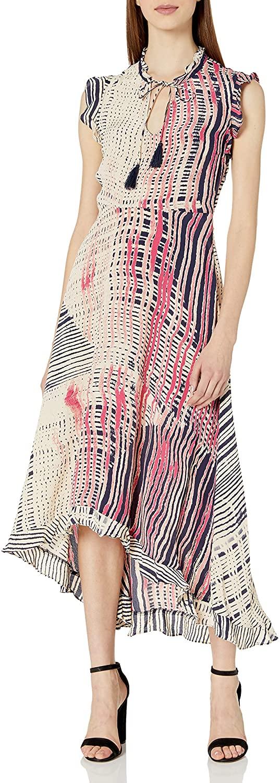 Plenty by Tracy Reese Womens High-Low Midi Dress