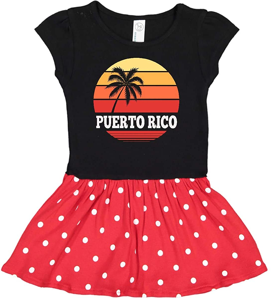 inktastic Puerto Rico Vacation Cruise Infant Dress