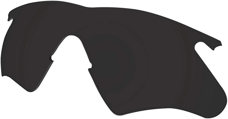 Polycarbonate Lenses Replacement for Oakley M Frame Heater Sunglass Frame - Dark Black