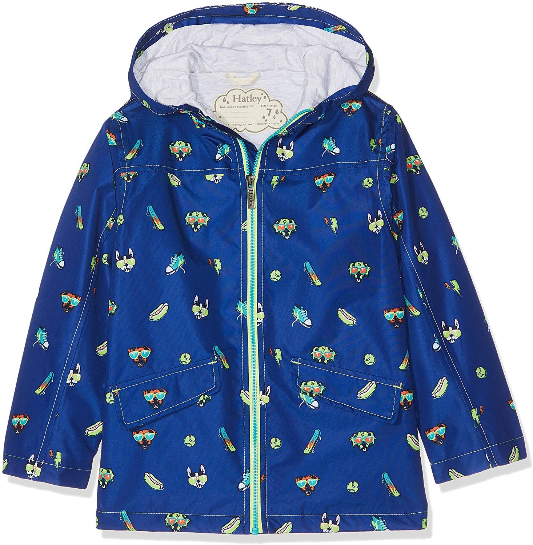 Hatley Kids Baby Boy's Cool Pups Microfiber Rain Jacket (Toddler/Little Kids/Big Kids)