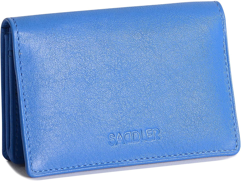 SADDLER Womens Real Leather Slim Credit Card Holder   Minimalist   Gift Boxed