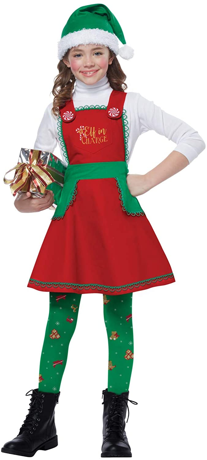 California Costumes Elf in Charge Child Costume-