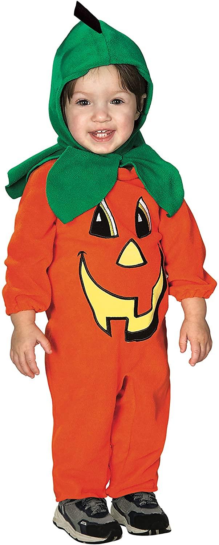 Lil' Pumpkin Romper Baby Romper Costume