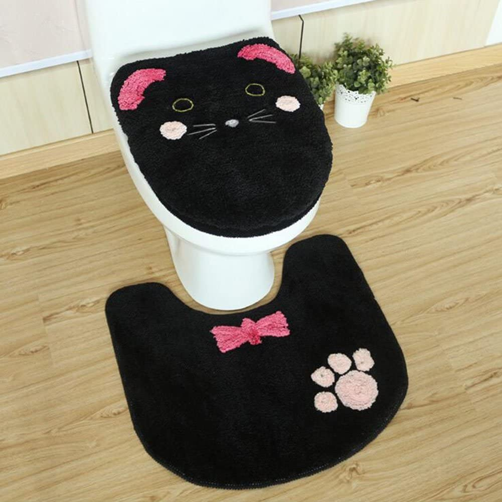 HUAN Toilet Seat Cover Bathroom Warmer Washable Cloth Toilet Seat Cover Pads (Color : 2)