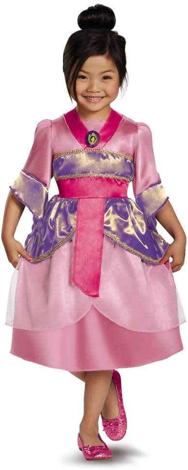 Disguise Disney's Mulan Sparkle Classic Girls Costume, 7-8