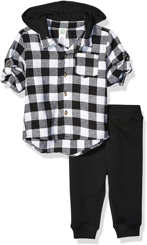 Little Me Baby Boys Boys Flannel Shirt Sets Pants