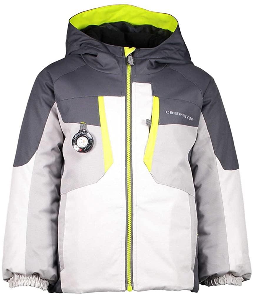 Obermeyer Kids Boy's Horizon Jacket (Toddler/Little Kids/Big Kids) Fog 4T Toddler