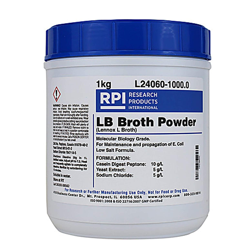 RPI L24060-10000.0 Lennox L Broth, Low Salt, 10kg