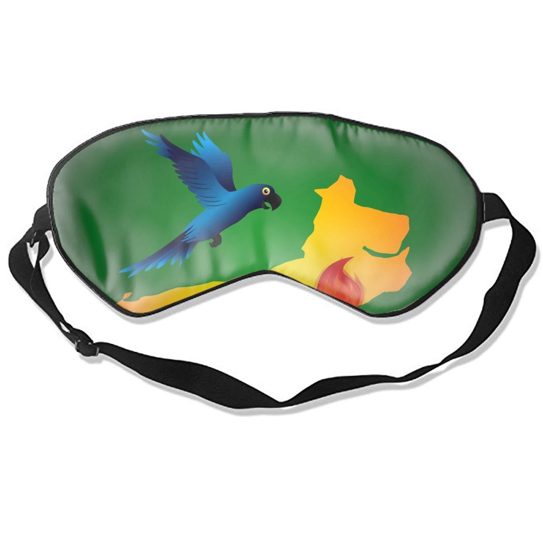 Natural Silk Sleep Mask, Blindfold, Super Smooth Eye Mask (Rio Design Eps Graphic)