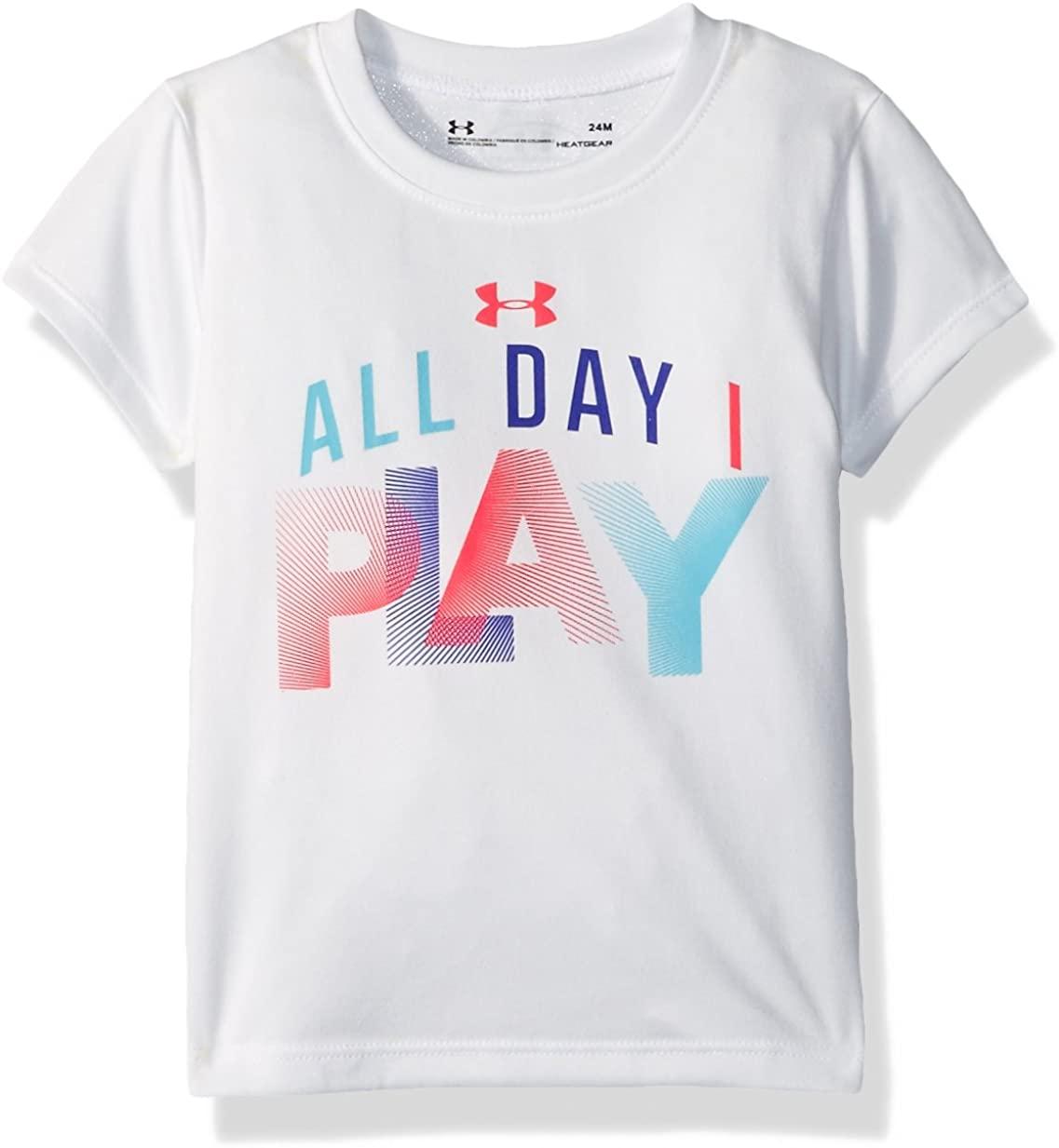 Under Armour Baby Girls' Attitude Ss Tee Shirt