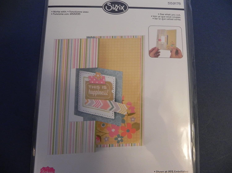 Sizzix Card Die ~ Square Flip-It #2!!!