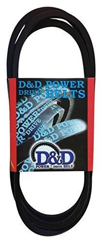 D&D PowerDrive 17X2060 Metric Standard Replacement Belt, Rubber, 1