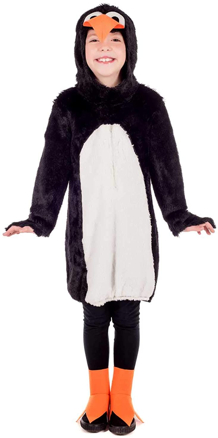 Kids Penguin Costume Childrens Cute Animal Character Outfit