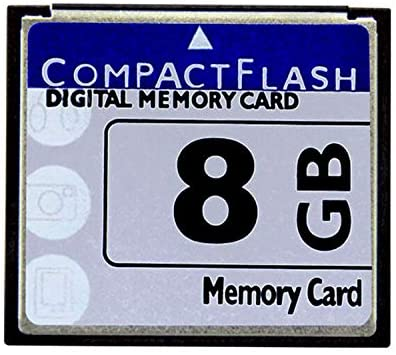 Bodawei Original 8GB CompactFlash Memory Card High Speed (TS8GCF133) Industrial Compact Flash Card for Canon Camera Cards