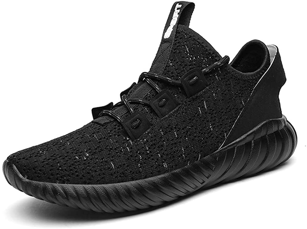 UERN Sport Baseball Shoes Knitted Fashion Outdoor Sneakers Lightweight Gym Athletic Shoe Men Trail Workout