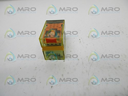IDEC RU2S-A24 Power Relay, DPDT, 24VAC, 10A, Plug in