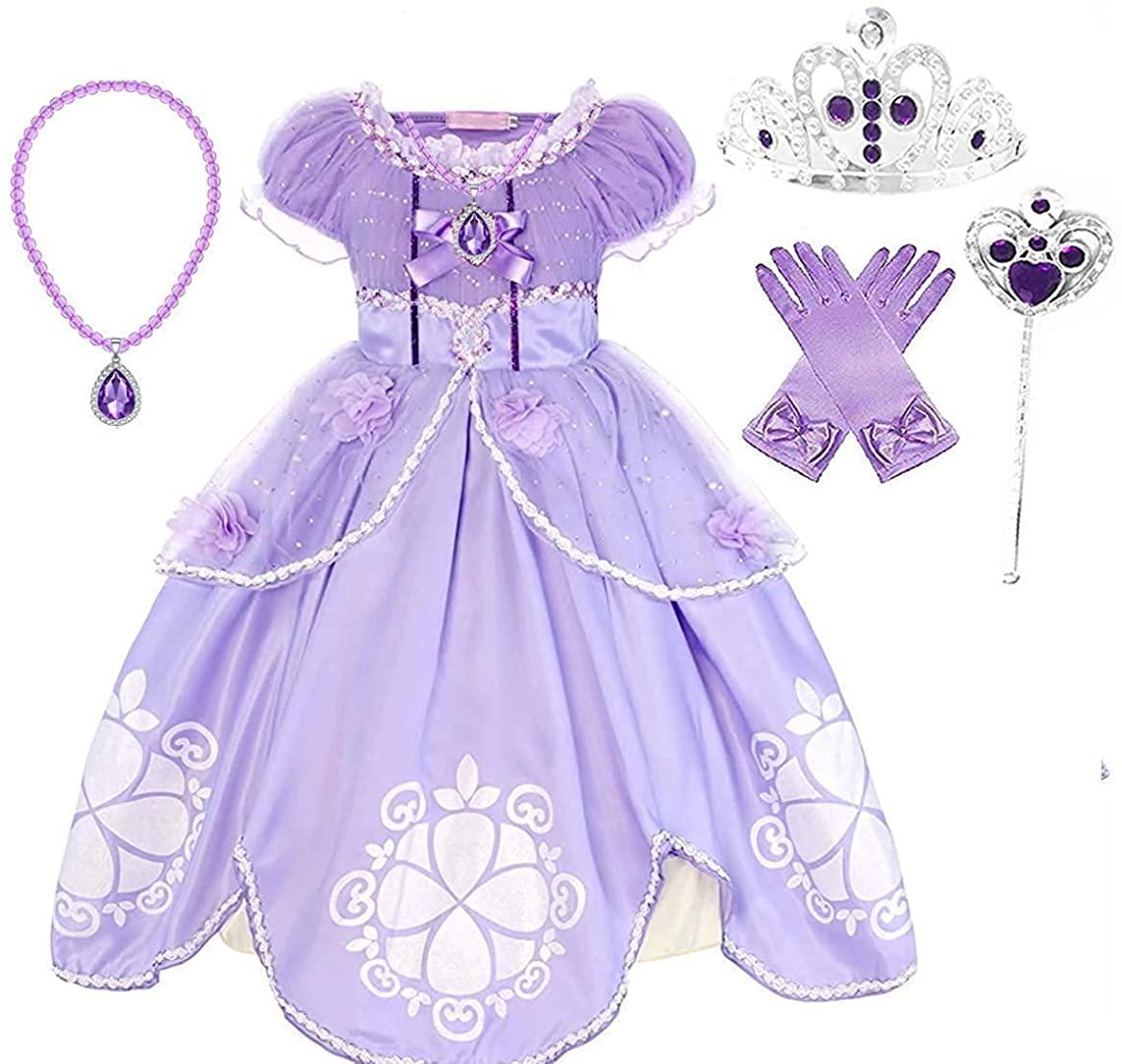 Romy's Collection Princess Amulet Dress Up Costume Dress Set