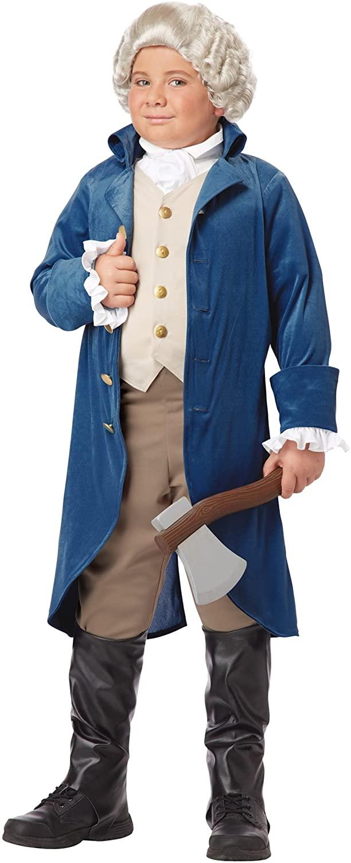 Boys George Washington Costume - 2XL