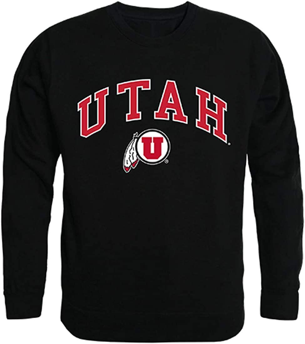 University of Utah Utes NCAA Men's Campus Crewneck Fleece Sweatshirt