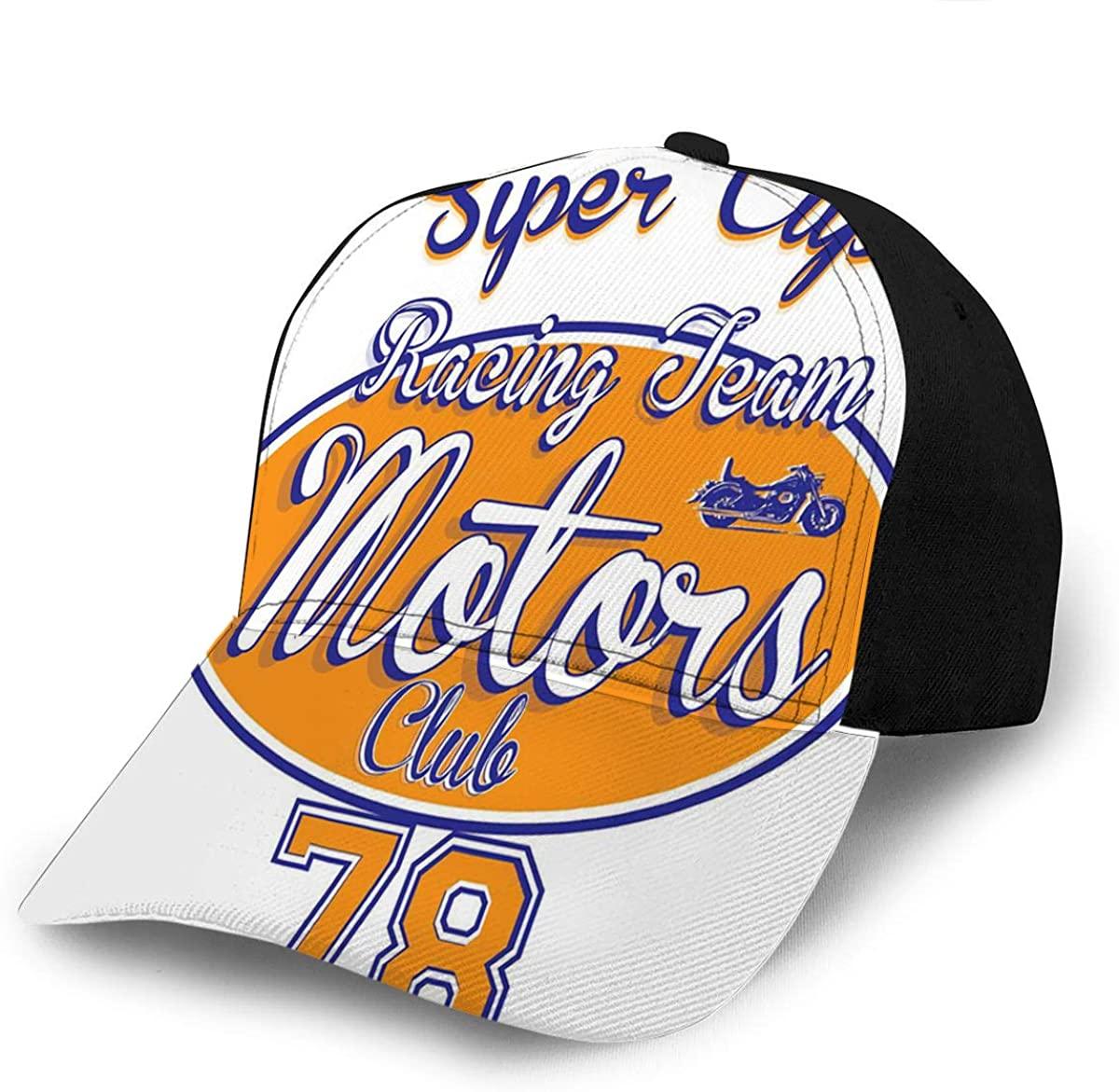 Baseball Caps Hats Motorcycle Racing Sun Snapback Cowboy Cap