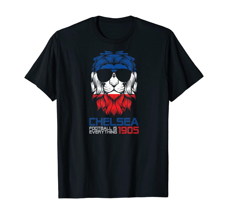 Football Is Everything - Chelsea Lion Pride Retro T-Shirt