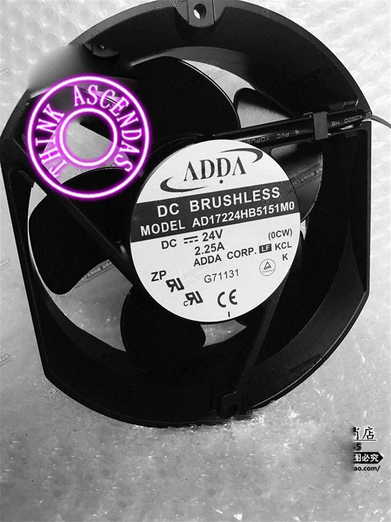 Original Cooler Fan AD17224HB5151M0 DC 24V 2.25A
