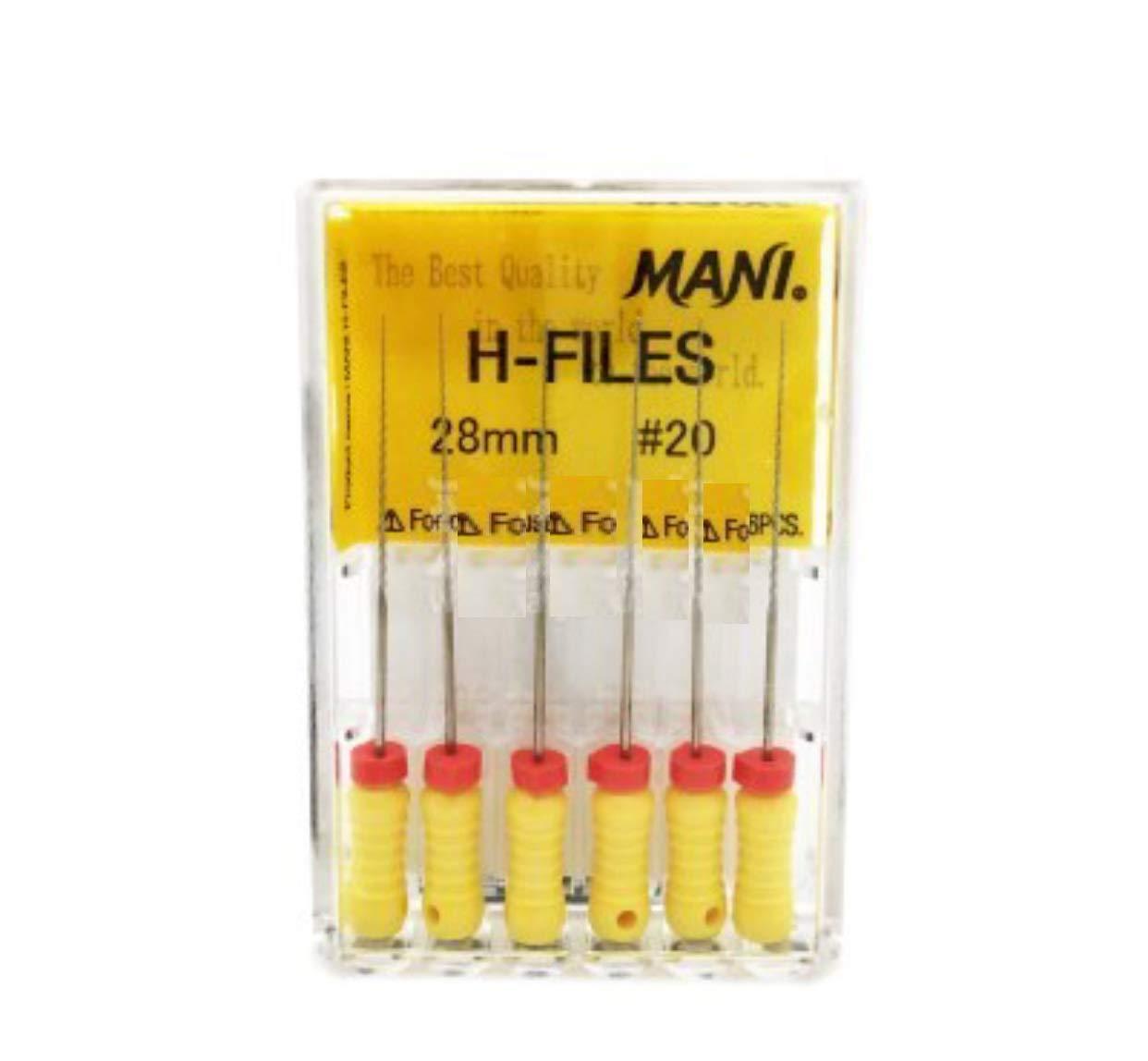 MANI Dental H FILES 20# 28mm